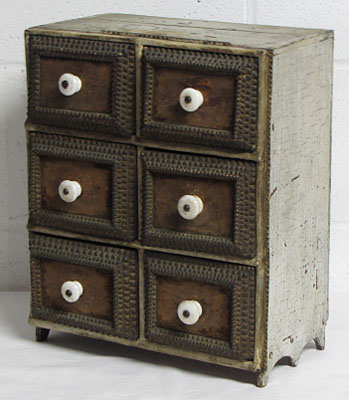 Six Drawer Painrted Chest
