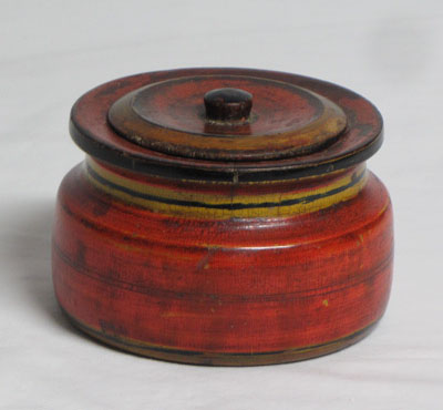 Polychrome Lidded Container