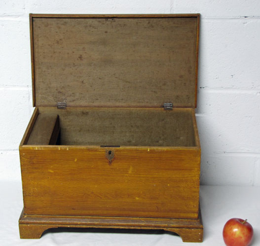 Small Blanket Box