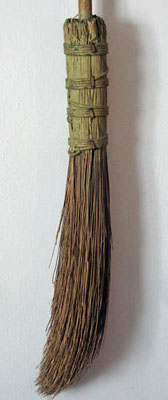 Early Broom in Paint